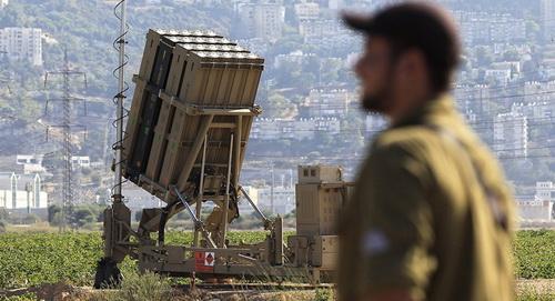 Tổ hợp phòng thủ tên lửa Iron Dome do Israel chế tạo. Ảnh: Al Masdar News.