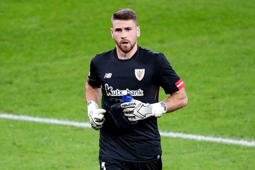 =8. Unai Simon (Athletic Bilbao, giá trị chuyển nhượng hiện nay: 27 triệu bảng, mức tăng giá: 18 triệu bảng).