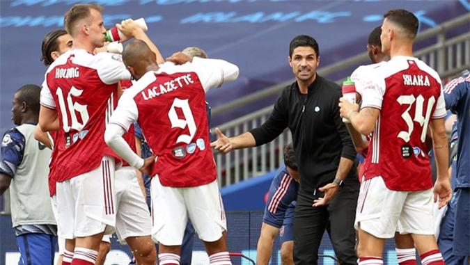 Arteta đã để lại dấu ấn sau vài tháng đầu dẫn dắt Arsenal