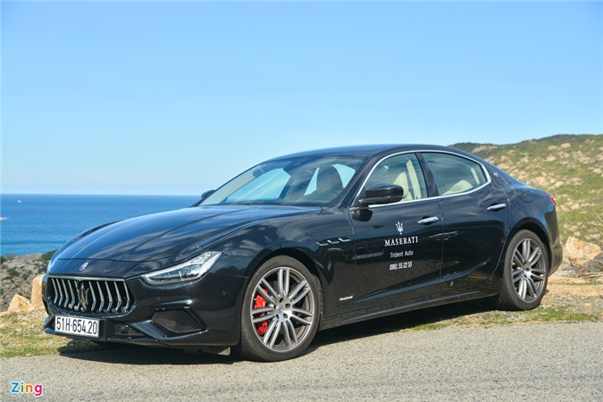 Chi tiet Maserati Ghibli o VN - sedan manh 350 ma luc, gia tu 5, 69 ty anh 1