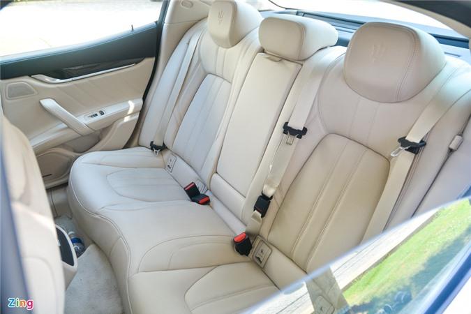 Chi tiet Maserati Ghibli o VN - sedan manh 350 ma luc, gia tu 5, 69 ty anh 10