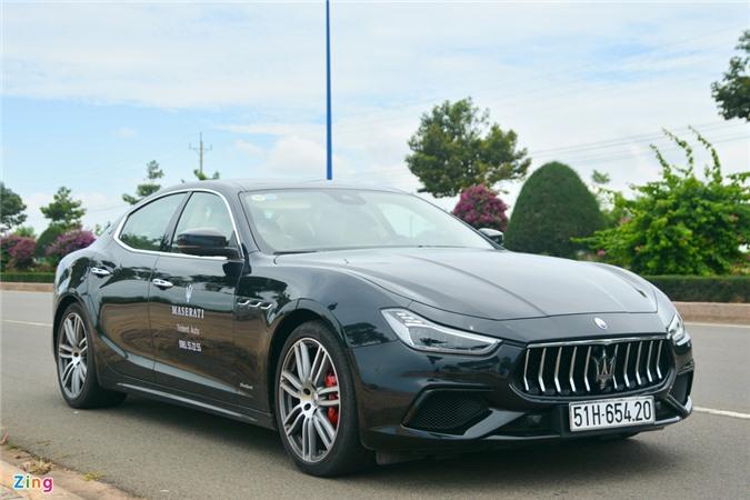 Chi tiet Maserati Ghibli o VN - sedan manh 350 ma luc, gia tu 5, 69 ty anh 2