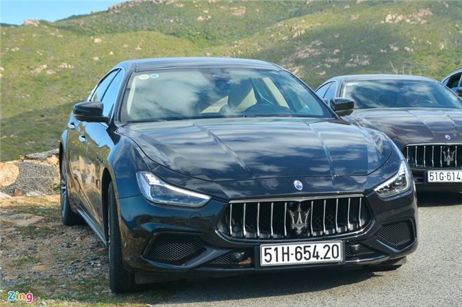 Chi tiet Maserati Ghibli o VN - sedan manh 350 ma luc, gia tu 5, 69 ty anh 3