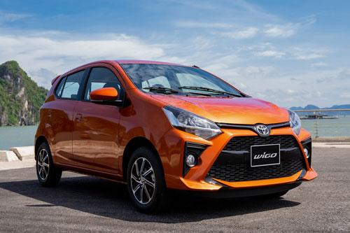 Toyota Wigo 2020.