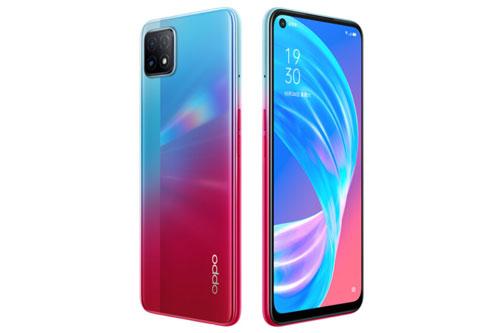 Oppo A72 5G có 3 màu Simple Black, Neon và Oxygen Violet. Máy có giá 1.899 Nhân dân tệ (tương đương 6,27 triệu đồng).
