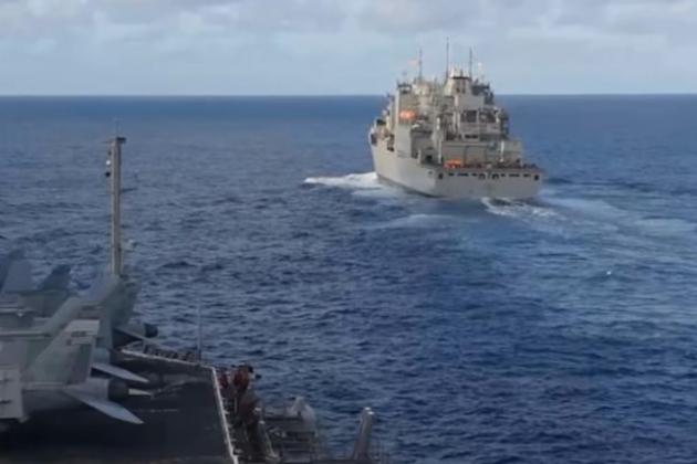 Hải quân Mỹ gửi tàu sân bay đến Quần đảo Kuril