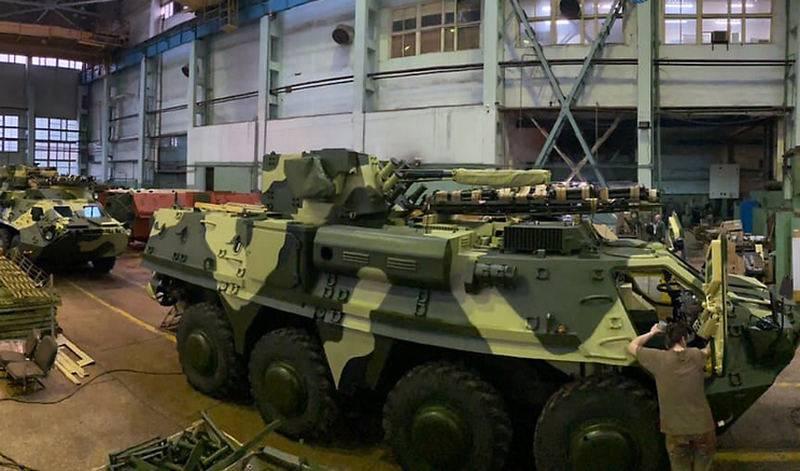 Xe bọc thép chở quân BTR-4 do Ukraine sản xuất. Ảnh: Topwar.