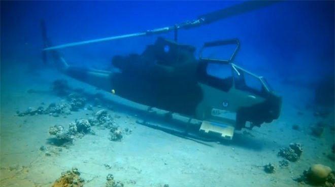 Trực thăng tấn công AH-1F Cobra của không quân hoàng gia Jordan