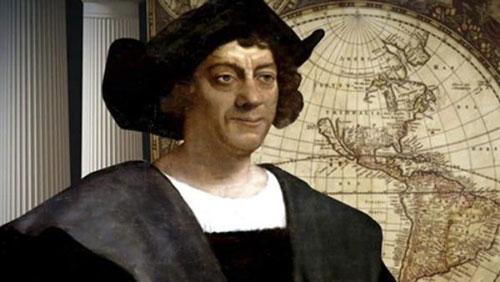 Phác họa chân dung Christopher Columbus