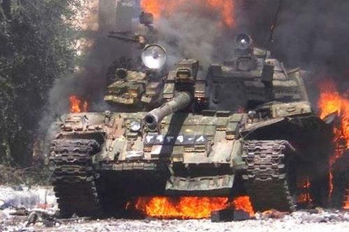 Chiến sự Syria đã nóng trở lại trong những ngày gần đây. Ảnh: Al Masdar News.