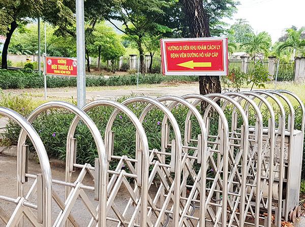 Không bố trí chung ca bệnh chuyển đến từ BV Đà Nẵng với bệnh nhân hiện có của cơ sở y tế