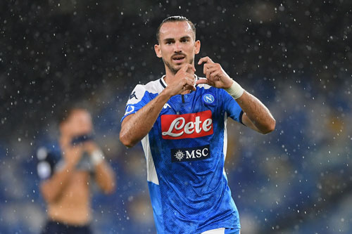 Tiền vệ trung tâm: Fabian Ruiz (Napoli).