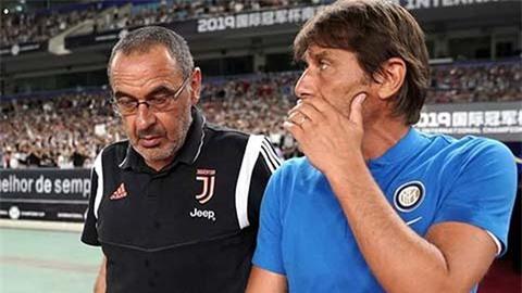 Conte tìm đường 'trở về' Juventus thay chỗ Sarri