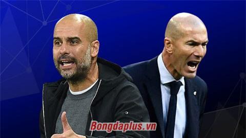 Zidane 'mát tay' hơn Guardiola, cơ sở để tin Real ngược dòng trước Man City?