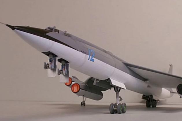 Đồ họa máy bay ném bom chiến lược trang bị lò phản ứng hạt nhân của Nga. Ảnh: Avia-pro.