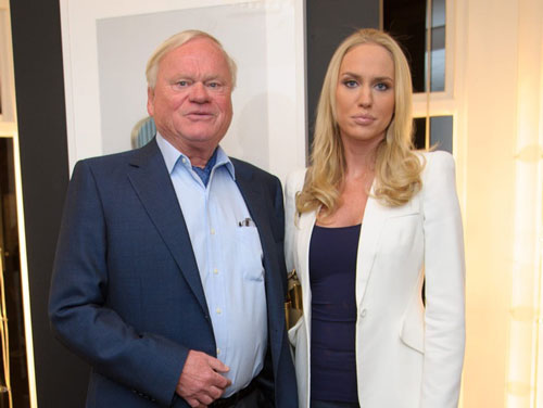 4. John Fredriksen (trái) là chủ sở hữu đế chế với nhiều tàu chở dầu, tàu chở dầu khô, tàu sân bay LNG và giàn khoan nước sâu, (tổng tài sản: 7,65 tỷ USD). Ảnh: WireImage.