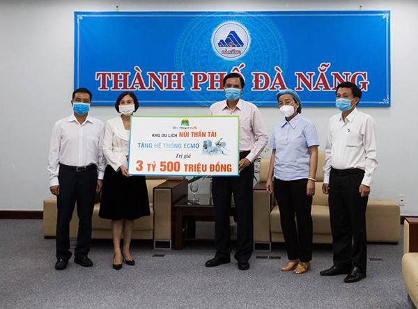 Tấm lòng của Công ty DHC Suối Đôi và doanh nghiệp Hàn Quốc hỗ trợ Đà Nẵng chống Covid-19