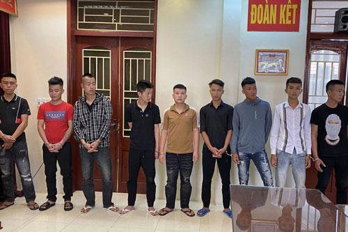 Trai làng hỗn chiến ở Thanh Hóa, khởi tố 23 bị can