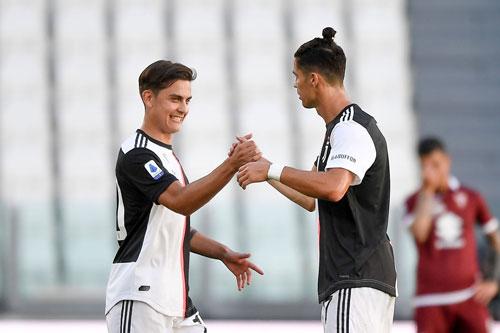 Dybala và Ronaldo.