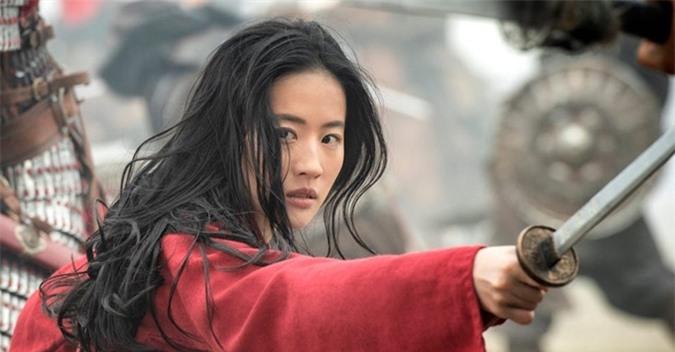 Lưu Diệc Phi đóng vai Hoa Mộc Lan.