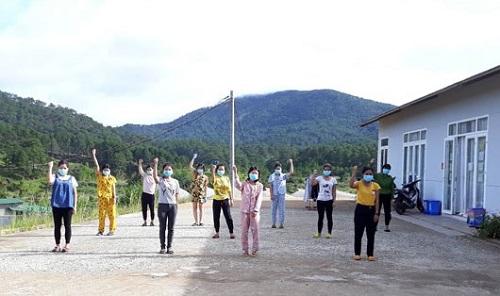 Lâm Đồng: Cuộc sống bên trong khu cách ly tại Công ty của Giám đốc người Nhật nhiễm Covid-19