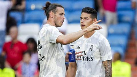 Bale và James bị gạch tên ở trận đấu Man City