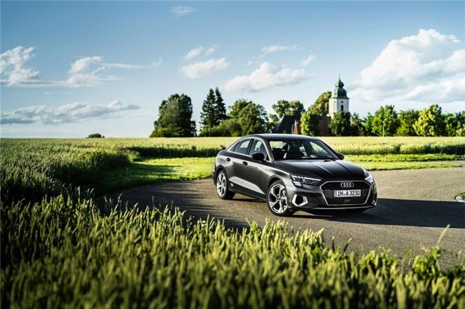 Audi tung loat anh day du cua A3 Sedan 2021 anh 11