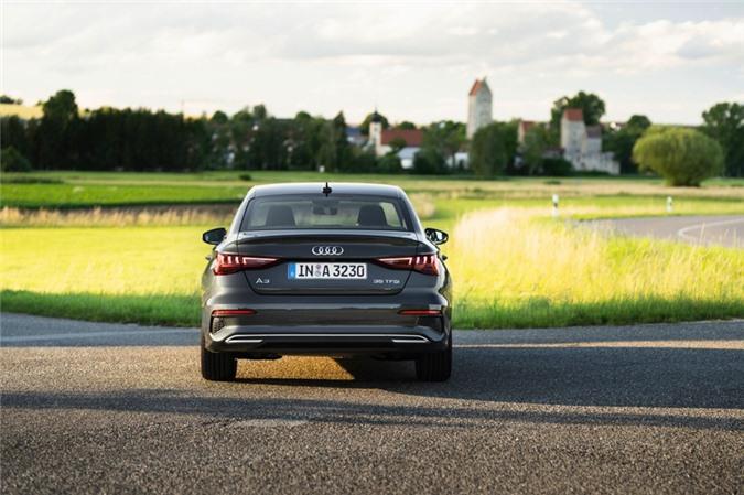 Audi tung loat anh day du cua A3 Sedan 2021 anh 13