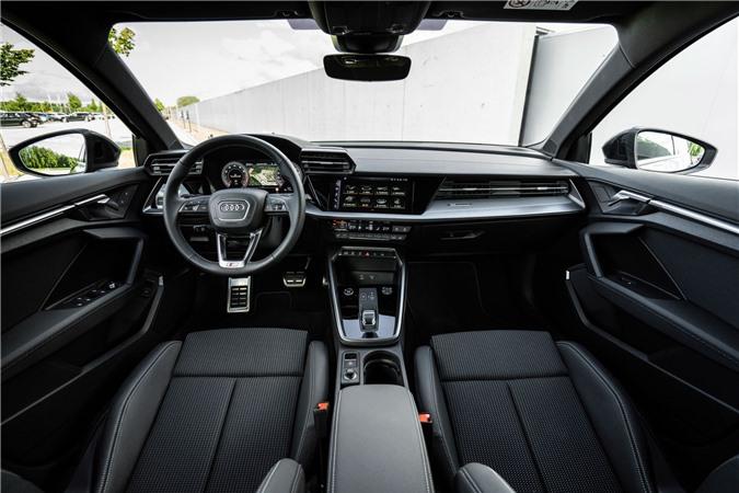 Audi tung loat anh day du cua A3 Sedan 2021 anh 23