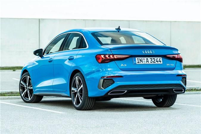 Audi tung loat anh day du cua A3 Sedan 2021 anh 3