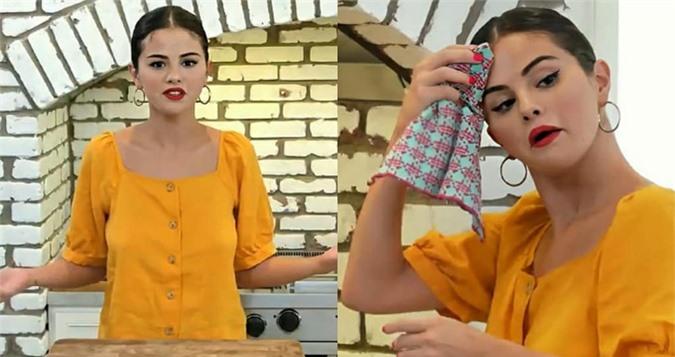 Selena Gomez trổ tài nấu ăn trên truyền hình - 3