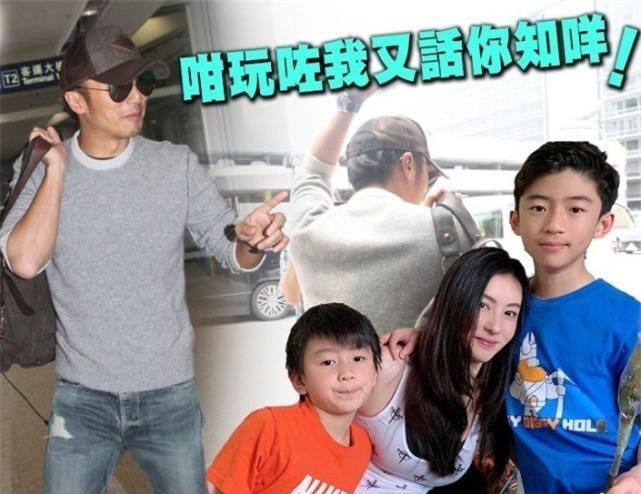 Tạ Đình Phong được cho là thờ ơ với con cái, phó mặc cho vợ cũ.