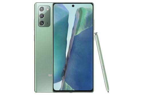 Samsung Galaxy Note 20 có kích thước 161,6x75,2x8,3 mm, cân nặng 192 g.