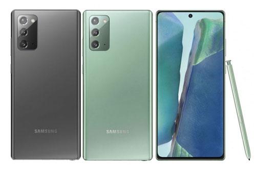 Tại thị trường Việt, Galaxy Note 20 có giá 24,99 triệu đồng, lên kệ trong tháng 8 này với 3 màu xám huyền bí, đồng huyền bí và xanh lá cây huyền bí.