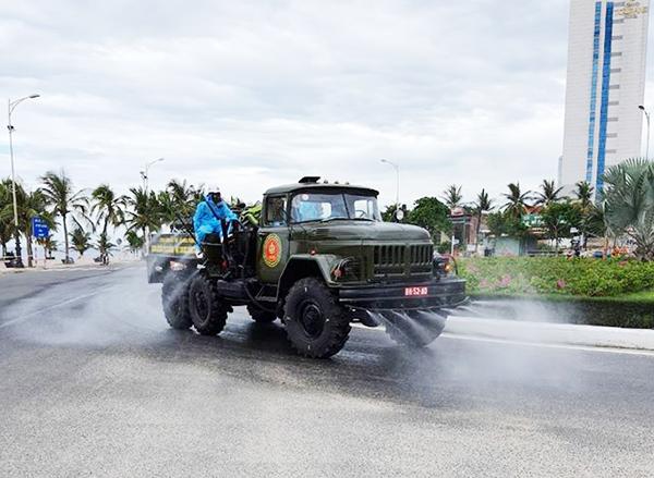 Đà Nẵng: Các khu vực tại 6 quận, huyện sẽ phun thuốc khử khuẩn phòng, chống Covid-19