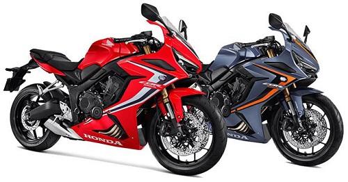 Honda CBR650R và CB650R.2020