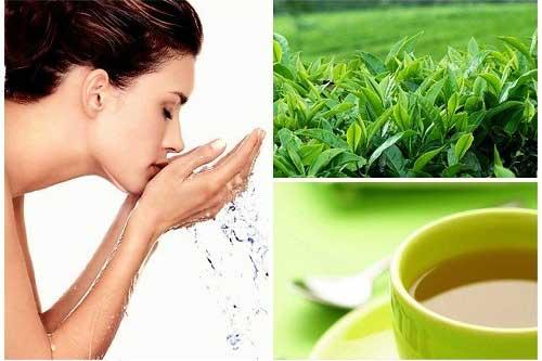 Công dụng tuyệt vời của trà xanh trong việc làm đẹp