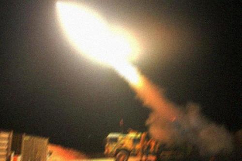 Hệ thống pháo phản lực phóng loạt (MLRS) T-122 Sakarya của Thổ Nhĩ Kỳ. Ảnh: TASS.