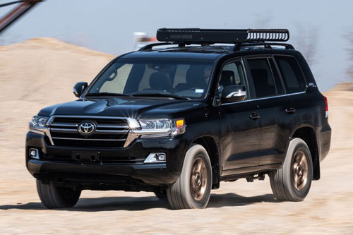 Toyota Land Cruiser Heritage Edition 2021.