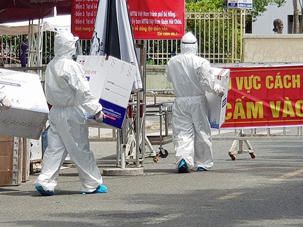 """Phó Chủ tịch Đà Nẵng giải thích lý do """"Không hỗ trợ trực tiếp lương thực, thực phẩm đến các cơ sở y tế, khu vực phong tỏa, cách ly tập trung"""""""