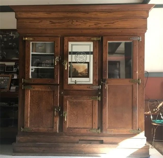 Tủ lạnh thời xưa
