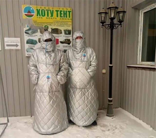 Loại áo khoác dành cho cư dân sống ở ngôi làng lạnh nhất thế giới – Yakutia, Nga.