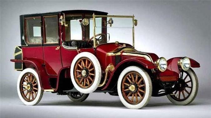 Chiếc xe Renault Type CB Coupe De Ville 1912