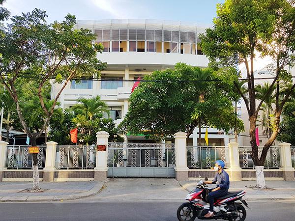 Trụ sở Quận ủy Hải Châu, nơi BN số