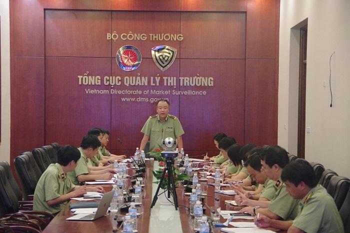 Tổng cục trưởng Trần Hữu Linh kết luận Hội nghị giao ban trực tuyến