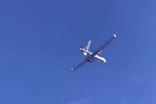 Máy bay không người lái tấn công MQ-9 Reaper do Mỹ chế tạo đã trở thành nạn nhân của hệ thống EW Nga? Ảnh: Avia-pro.