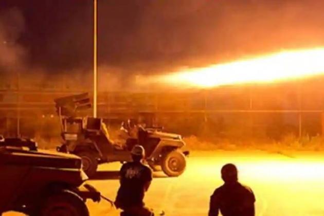 Các căn cứ quân sự của Mỹ tại Syria thời gian gần đây liên tiếp phải hứng chịu những vụ tấn công. Ảnh: Al Masdar News.
