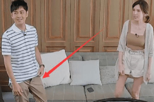 Lâm Chí Dĩnh 'muối mặt' vì gặp sự cố 'kém duyên' trên truyền hình