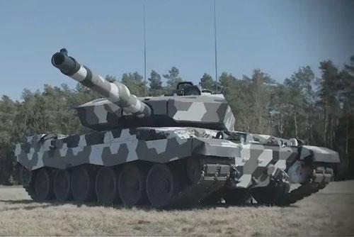 """Đức ra mắt xe tăng Leopard 2 mang pháo 130 mm """"vượt xa T-14 Armata"""""""