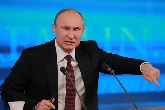 Tổng thống Nga Putin đã yêu cầu Belarus điều tra kỹ vụ lính đánh thuê Wagner bị bắt giữ. Ảnh: TASS.